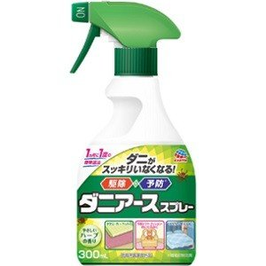 「アース製薬」 ダニアース スプレー ハーブの香り 300mL 「防除用医薬部外品」