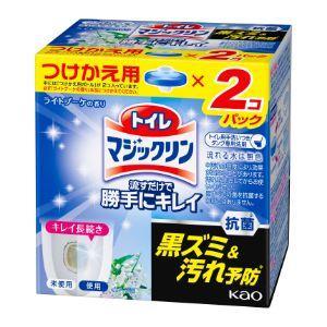 「花王」 トイレマジックリン 流すだけで勝手にキレイ ライトブーケの香り つけかえ用2コパック (8...
