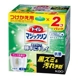 「花王」 トイレマジックリン 流すだけで勝手にキレイ シトラスミントの香り つけかえ用2コパック (...