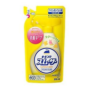 「花王」 キーピング スムーザー アイロン用シワとり剤 (つめかえ用) 350ml 「日用品」