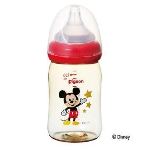 「ピジョン」 ピジョン 母乳実感哺乳びん プラスチック 160mL ミッキー柄 1コ入 「日用品」