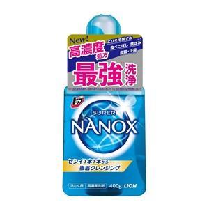 「ライオン」 トップ スーパーNANOX(ナノックス) 本体 400g 「日用品」 薬のファインズファルマ