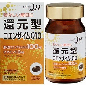 カネカ社製還元型コエンザイムQ10を1日2粒に100mg配合し、  更にビタミンEを配合した、栄養機...