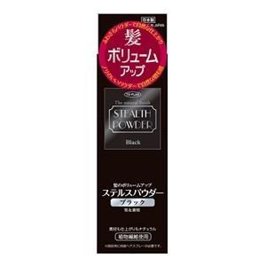 「東京企画」 髪のボリュームアップ ステルスパウダー ブラック 150mL 「日用品」