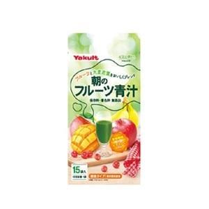 「ヤクルトヘルスフーズ」 朝のフルーツ青汁 7g×15袋入 「健康食品」|finespharma