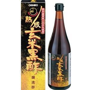 「オリヒロ」 熟成玄米黒酢 720mL 「健康食品」