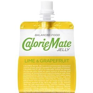 「大塚製薬」 カロリーメイトゼリー ライムグレープフルーツ 215g 「健康食品」