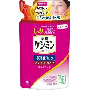 「小林製薬」 ケシミン浸透化粧水 とてもしっとり高保湿タイプ (つめかえ用) 140ml (医薬部外...