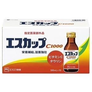 エスカップC1000は、かぜなどで消耗しやすい ビタミンCの補給を考えたドリンク剤です。  エスカッ...