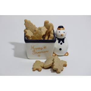 クリスマス限定!犬用クッキー(スノーマン)|finocchio