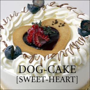 レストランの犬用ケーキ「スイート・ハート」|finocchio