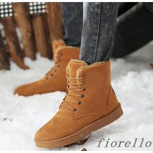 防寒靴 スノーブーツ メンズブーツ 紐靴 カジュアルブーツ ...