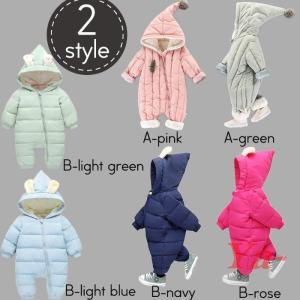 【品 番】fello8mtmp2170 外へのお出かけや雪遊びに大活躍する 赤ちゃん用防寒きぐるみが...