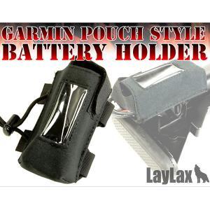 ガーミンポーチスタイル バッテリーホルダー BK/TAN