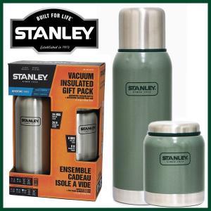 (ギフトパック) スタンレー STANLEY 真空断熱 ステンレスボトル 1L&真空フードジャー 414ml 保温 保冷 アウトドア キャンプ レジャー first-jp