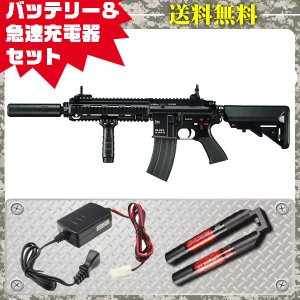 (3点セット品)次世代電動ガン DEVGRUカスタム HK416D シンプルセット(急速マルチ) 4952839176202 fvs-b-ni フルセット|first-jp