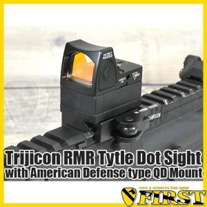 Trijicon RMRタイプ ドットサイト ADスタイル QDマウント付き エアガン 電動ガン サバゲ|first-jp