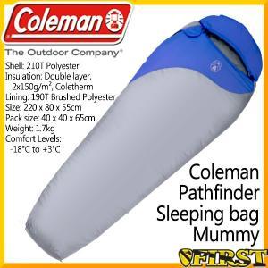 (耐寒マイナス-18℃まで対応) コールマン 寝袋 パスファ...