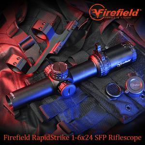 (6→7月入荷予定) RapidStrike 1-6x24 ショートスコープセット 光学 望遠 サバ...