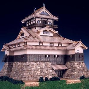 (取寄品)ウッディジョー 木製模型 1/150 犬山城 精密 上級者向け WoodyJOE 4560134352346