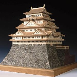 【17日最大29.5%還元】 (取寄品) ウッディジョー 木製模型 1/150 名古屋城 精密 上級...