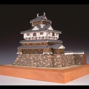 (取寄品)ウッディジョー 木製模型 1/150 岩国城 精密 上級者向け WoodyJOE 4560134352476