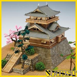 (取寄品) ウッディジョー 木製模型 1/150 丸岡城 精密 WoodyJOE 4560134352575|first-jp