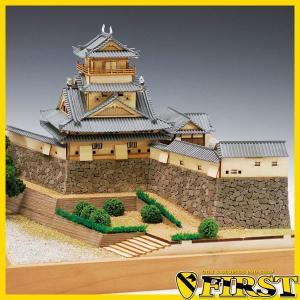 (取寄品)ウッディジョー 木製模型 1/ 150 高知城 精密 WoodyJOE 4560134352582|first-jp