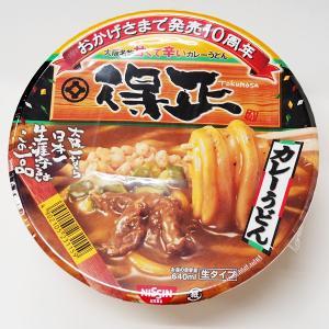 得正カレーうどん 大阪名物 甘くて辛い 生タイプ 日清食品 麺 近畿限定 4902105231159