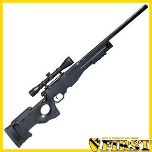 (取寄品) エアガン スナイパーライフル TYPE96 シニア スコープ付き コッキング ボルトアクション 18歳以上 クラウンモデル(18arm)