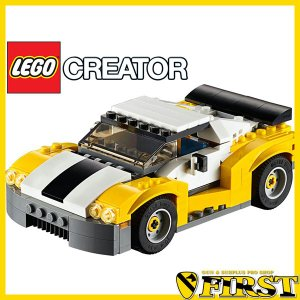 LEGO レゴ 31046 クリエイター スポーツカー イエロー 5702015591010|first-jp