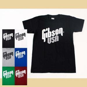 Tシャツ バンドTシャツ ロックTシャツ メンズ レディース 半袖 (AG) ギブソン GIBSON 1 S/S 6色