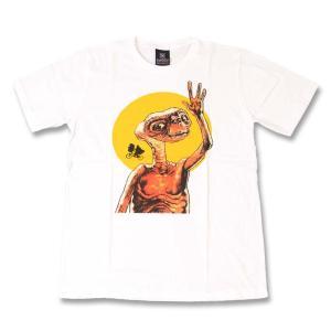 (KR) イーティー E.T.(ET) 2 WHT S/S バンドTシャツ ロックTシャツ