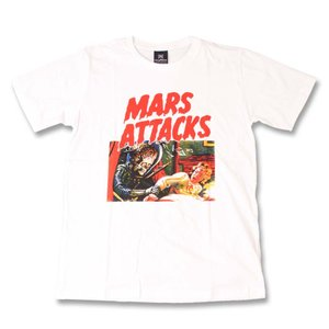 Tシャツ バンドTシャツ ロックTシャツ 半袖 (KR) マーズアタック MARS ATTACKS ...