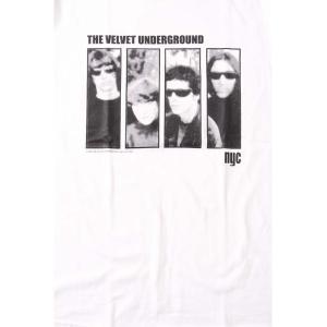 (W) ヴェルヴェットアンダーグラウンド THE VELVET UNDERGROUND 4 WHT S/S バンドTシャツ ロックTシャツ|first-line|02