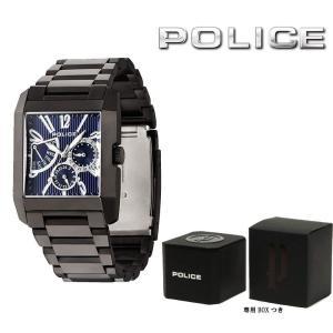 ポリス POLICE 腕時計 メンズ キングスアベニュー KINGS AVENUE 13789MSB-03M|first-store