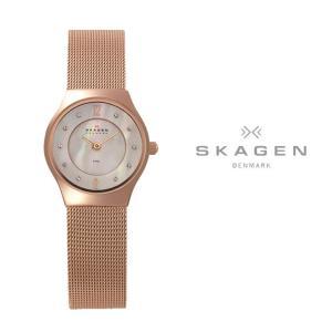 スカーゲン SKAGEN 腕時計 レディース スチール STEEL ローズゴールド(ピンクゴールド) 233XSRR first-store
