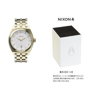 ニクソン NIXON THE MONOPOLY モノポリー 腕時計 レディース シャンパンゴールド/シルバー A325-1219|first-store