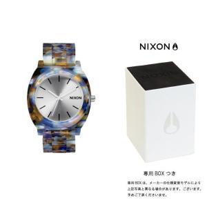 ニクソン NIXON THE TIME TELLER ACETATE タイムテラー アセテート ニクソン 腕時計 レディース ウォーターカラー A327-1116|first-store