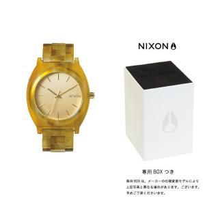 ニクソン NIXON THE TIME TELLER ACETATE タイムテラー アセテート ニクソン 腕時計 レディース シャンパンゴールド/アンバー A327-1423|first-store