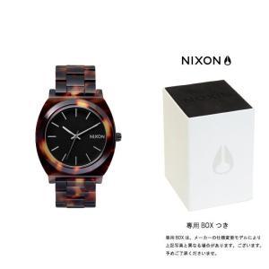 ニクソン NIXON THE TIME TELLER ACETATE タイムテラー アセテート ニクソン 腕時計 レディース トートイズ A327-646|first-store