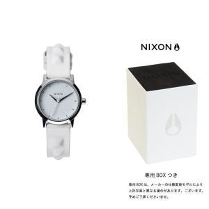 ニクソン NIXON ケンジレザー KENZI LEATHER 腕時計 レディース オールホワイト/スタッズ  A398-1811|first-store