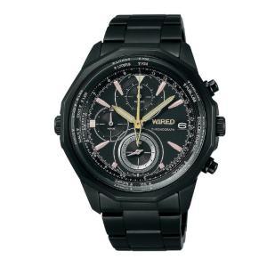 セイコー SEIKO ワイアード WIRED メンズ 腕時計 時計 AGAW645 BLACK COMPILATION ブラックコンピレーション|first-store