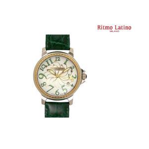 Ritmo Latino MILANO(リトモラ ティーノ ミラノ) STELLA(ステラ) 腕時計 ラージサイズ GREEN(グリーン) |first-store