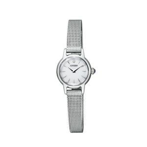 シチズン キー CITIZEN Kii: エコドライブ ソーラー 腕時計 レディース クラシック メッシュバンド EG2990-56A first-store