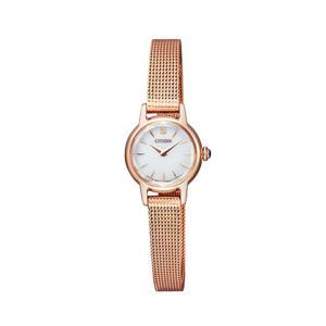 シチズン キー CITIZEN Kii: エコドライブ ソーラー 腕時計 レディース クラシック メッシュバンド EG2992-51A first-store