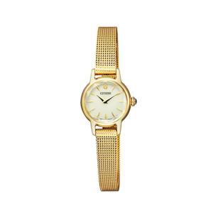 シチズン キー CITIZEN Kii: エコドライブ ソーラー 腕時計 レディース クラシック メッシュバンド EG2993-58A first-store