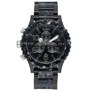 ニクソン NIXON タイムテラーアセテート TIME TELLER ACETATE 腕時計 レディース/メンズ ブラック/シルバー/マルチ NA3272185-00|first-store