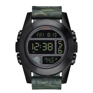 ニクソン NIXON ユニットエクスペディション UNIT EXPEDITION 腕時計 メンズ マーブルカモ デジタル NA3651727-00|first-store