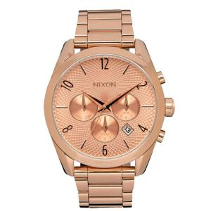 ニクソン NIXON ブレットクロノ BULLET CHRONO 腕時計 レディース クロノグラフ オールローズゴールド NA366897-00|first-store